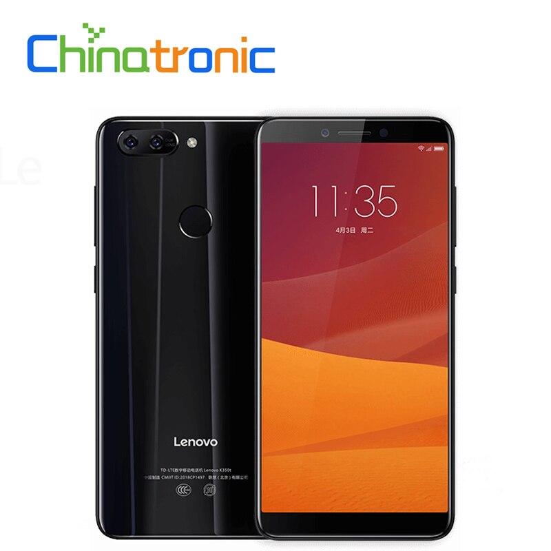 Original Lenovo K5 2.5D Glass Body 4G FDD LTE Mobile Phone