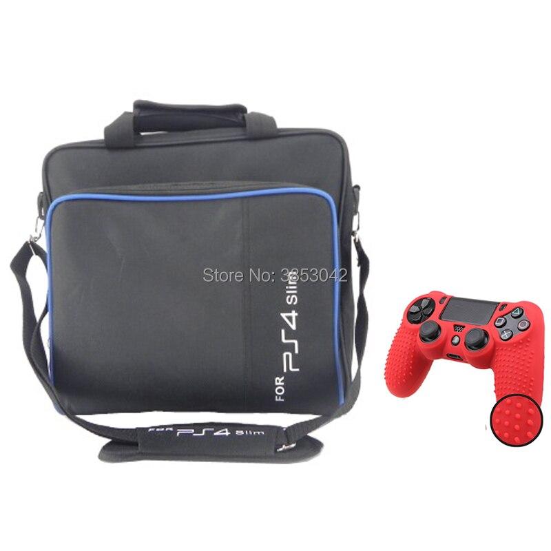 Doitop Spiel System Tasche Für Ps4 Schlank Spiel Konsolen Zubehör Schulter Tasche Tragen Reise Fall Für Sony Playstation Ps4 Dünne Taschen Unterhaltungselektronik