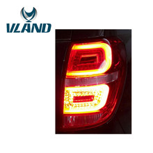 VLAND Factory For Car Tail Lamp For Captiva LED Taillight 2010 2012 2014 Captiva LED Tail Light With DRL+Reverse+Brake Red Color(China)