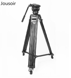 1.8m camera tripod single-back hydraulic damping cloud platform camera professional  CD50