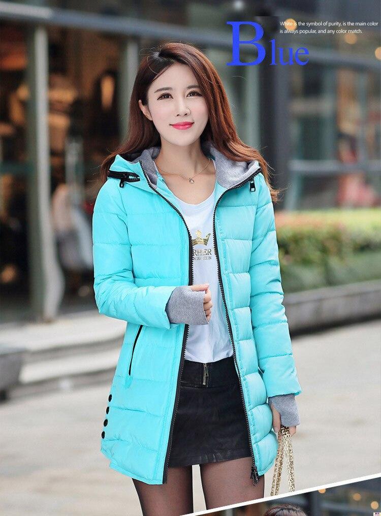 HTB1ki6zs1OSBuNjy0Fdq6zDnVXa4 2019 women winter hooded warm coat plus size candy color cotton padded jacket female long parka womens wadded jaqueta feminina