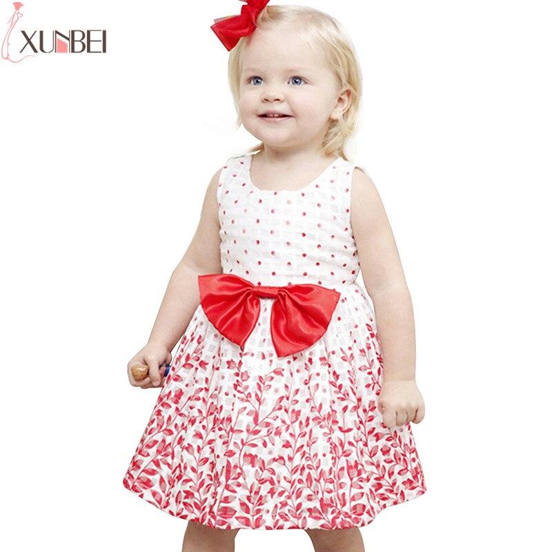 Cute Red Leaf Hollow   Flower     Girl     Dresses   2019 A-line Little Kids Communion   Dresses   Pageant   Dresses   robe enfant fille mariage