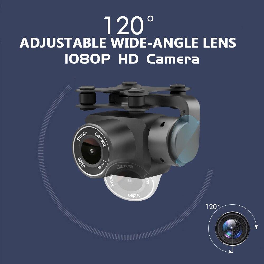 Image 5 - Gps Дроны с камерой HD Wi Fi Дрон с камерой высота удержания Следуйте за мной Радиоуправляемый квадрокоптер камера Дрон с безголовым режимом игрушки для детей # E-in RC-вертолеты from Игрушки и хобби
