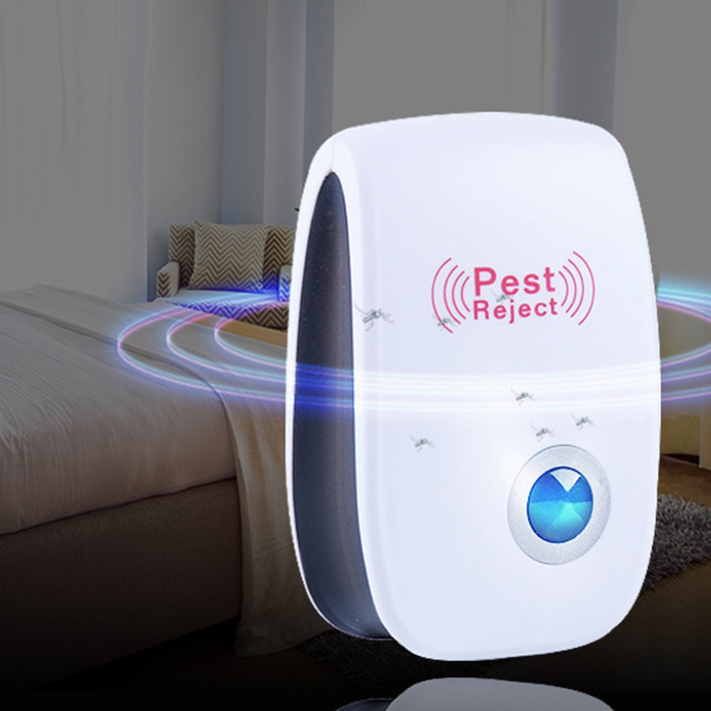 Electronic Ultrasonic Pest Mouse Repellent Anti Mosquito Repeller Killer Machine Pest Reject Insect Rodent Control EU/US Plug