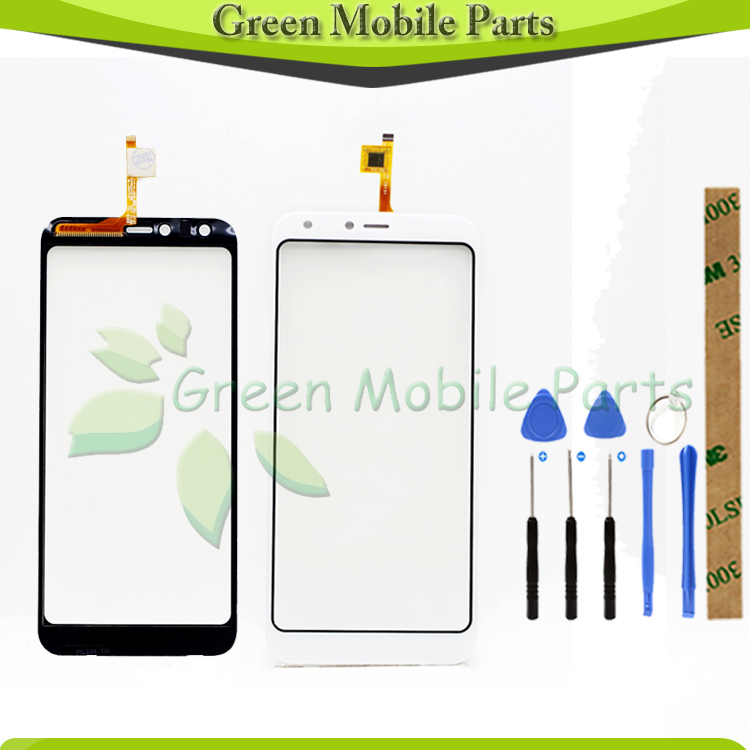 Touch Panel Sensor Touch Screen Digitizer For Doogee X53 Touch Screen Digitizer Front Glass Panel Sensor No LCD