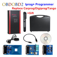 Новейший Iprog + программист поддержка IMMO + коррекция расстояния + сброс подушки безопасности Iprog Pro до 2019 Замена Carprog/Digiprog/Tango