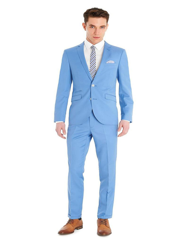 Online Get Cheap Sky Blue Suit -Aliexpress.com | Alibaba Group