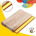 6 pulgadas de Longitud Mango De Madera Pantalla Rascador Rasqueta De Impresión de Tinta De Seda Artesanal