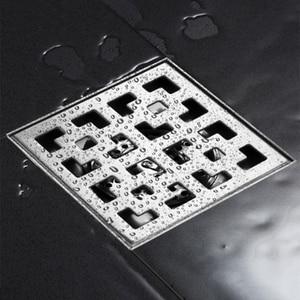 Image 2 - 304 נירוסטה אמבטיה מקלחת רצפת מקלחת גדול רצפת ניקוז מקלחת ניקוז כיסוי דאודורנט ניקוז רצפת מסננת מלון 15