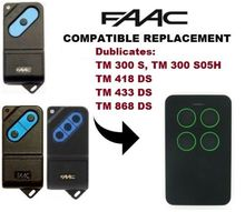 replacement for FAAC TM1 300, 418, 433, 868 Remote Control duplicator Multi Frequency Duplicator 286-868MHz все цены