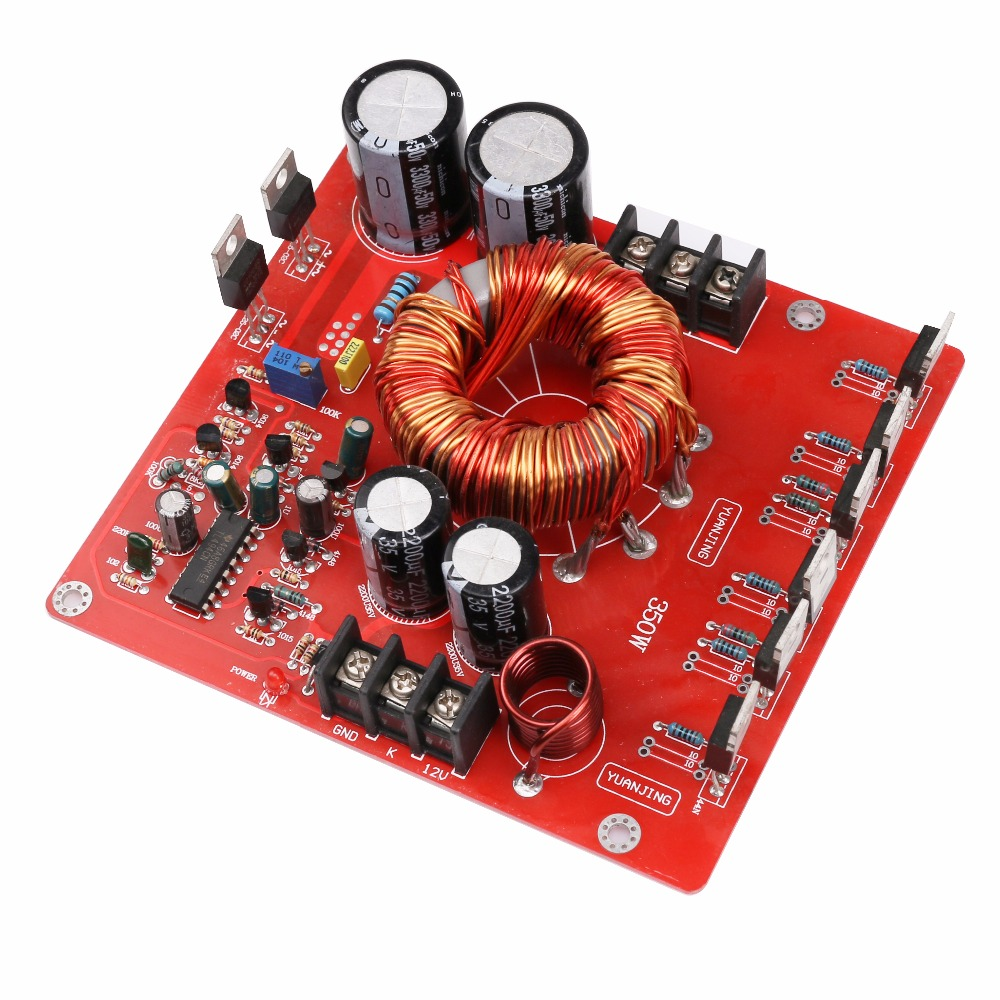 Assembled 500w Car Booster Board Dc12v Switching Power Supply 60v Dual Variable Circuit Using Lm317lm337 12vdc Boost To 20 32vdc 350w For Amplifier Lm3886