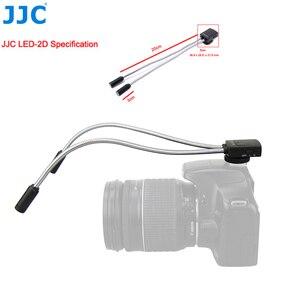 Image 4 - JJC DSLR كاميرا مرنة ماكرو LED مصابيح فلاش ضوء Speedlight لكانون 60D 5D مارك II 5D مارك III 760D 750D سوني نيكون ضوء