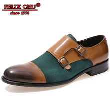 Italian Style Leather Men Shoes Spring and Autumn Formal Wedding Mixed colors Party Green Dress Casual