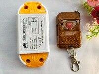 AC85 250V 110V 220V 10A Relay 1CH Wireless RF Remote Control Switch Transmitter Receiver Smart Home