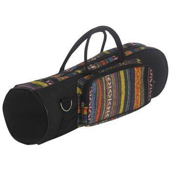Przenośny styl narodowy trąbka torba wodoodporna Oxford miękkie bawełniane do przenoszenia torby z uchwytami przypadku podwójne zamki z przodu kieszeń tanie i dobre opinie Other PEL08FH