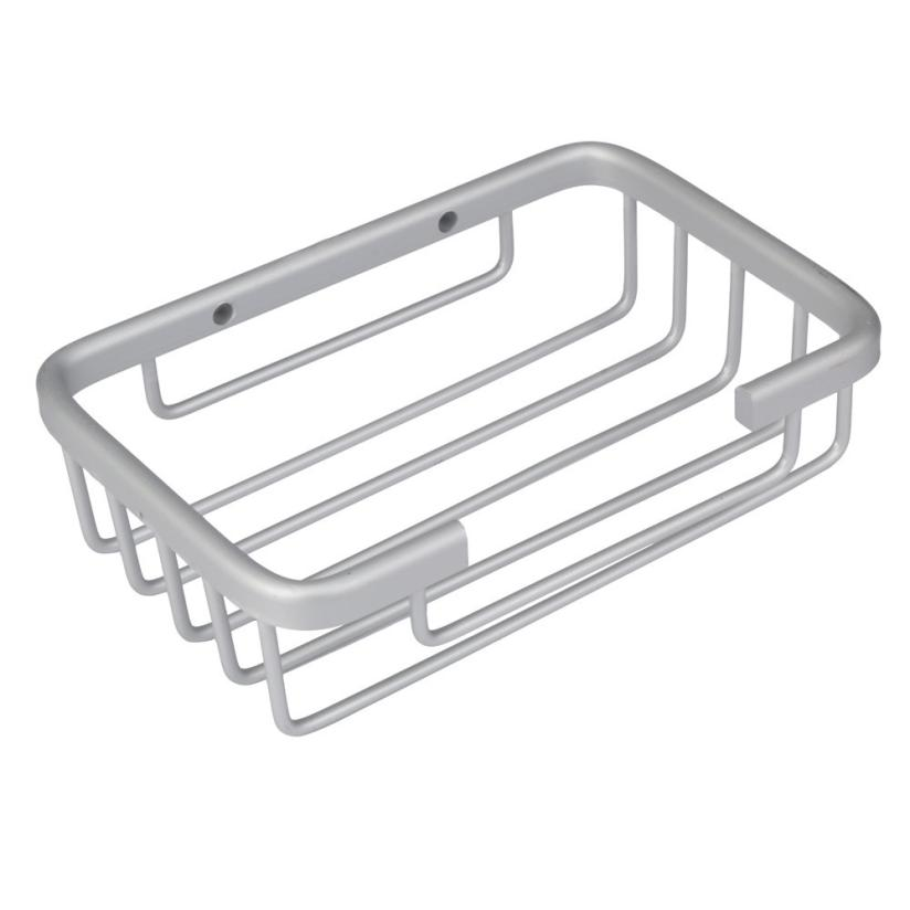 OUSSIRRO Stainless Steel Soap Holder Dish Basket Tray Bathroom Shower Cup Storage Rack Drop Shipping Happy Sale ap704