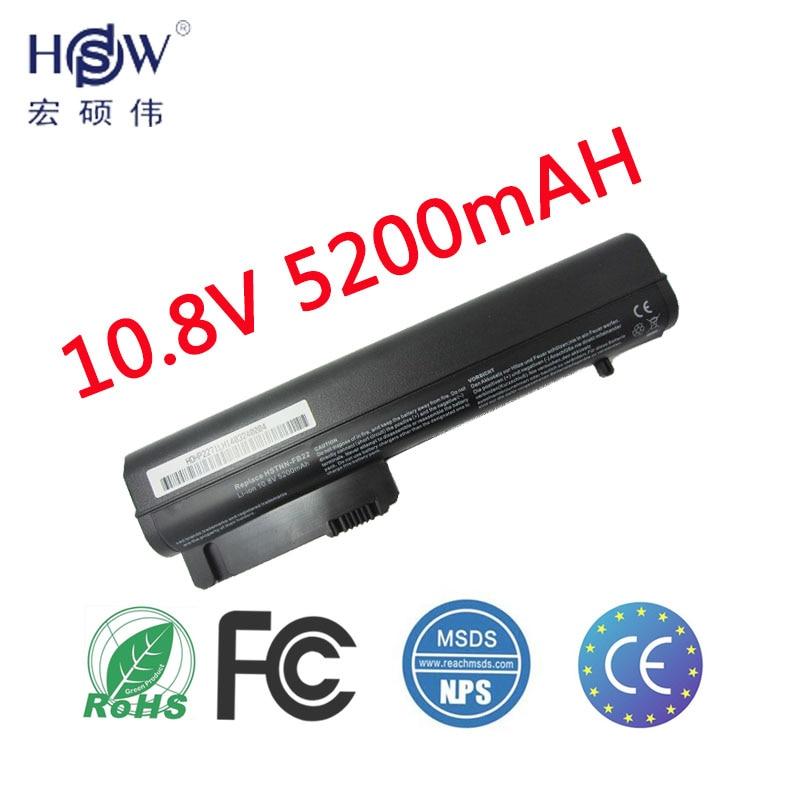 סוללה למחשב נייד HPW עבור סוללה HP 2530p 2540 עבור מחשב נייד 2510p nc2400 HSTNN-DB23 412779-001 HSTNN-FB21 RW556AA HSTNN-XB21 סוללה