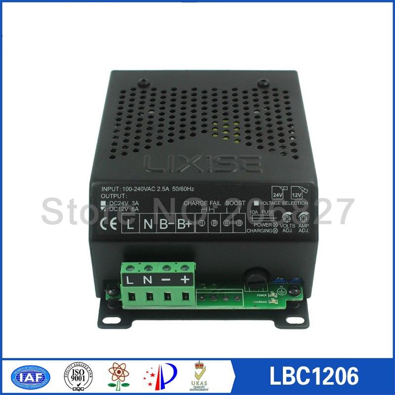 Chargeur de batterie automatique LBC1206 de groupe électrogène diesel 12 V 6A