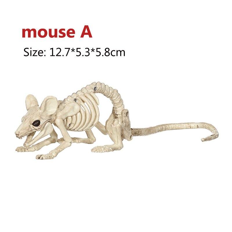 Halloween Skeleton Animal Figurine Mermaid NEW