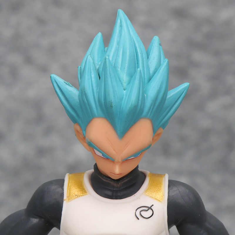 Dragon Ball Z Vegeta Trunks Super Kuririn Congelar Son Goku Gohan Piccolo Freeza Tien Lunchi Shinhan PVC Figuras de Ação Brinquedos
