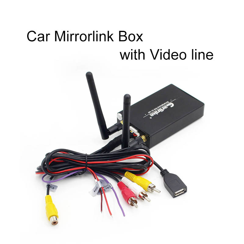 carlinke car styling Car wifi Display Car Mirror Link Adapter For iSO System Airplay DLNA Miracast