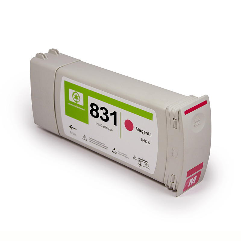 For HP 831 Remanufactured Ink Cartridge Filled with Latex Ink for HP Latex 310 315 330 335 360 365 370 Printer Ink Cartridge картридж для струйных аппаратов hp 831c 775ml mag latex ink cartridge cz696a