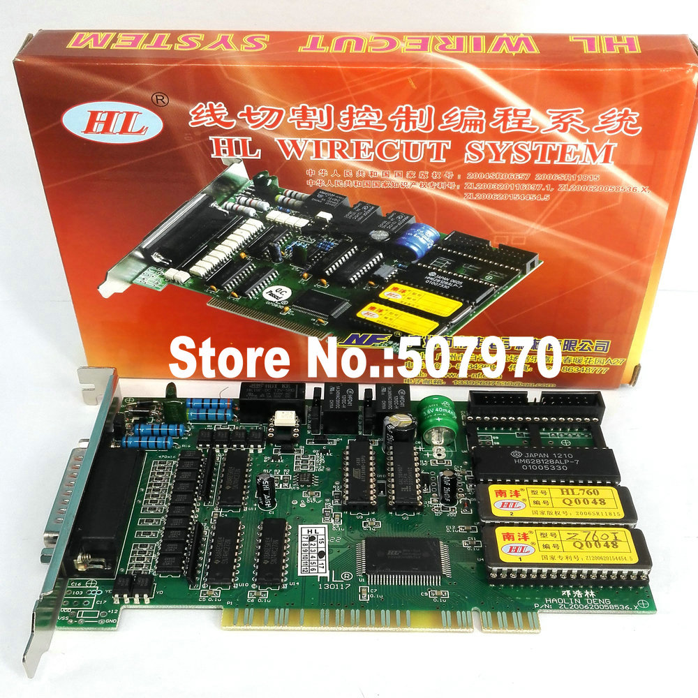 Orignal HL Card 760 CNC Control System for Wire Cutting High Speed Machine