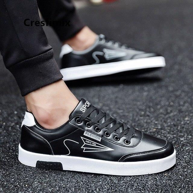 142e24626c7b Cresfimix/Мужская модная удобная обувь из искусственной кожи на шнуровке;  сезон осень ...