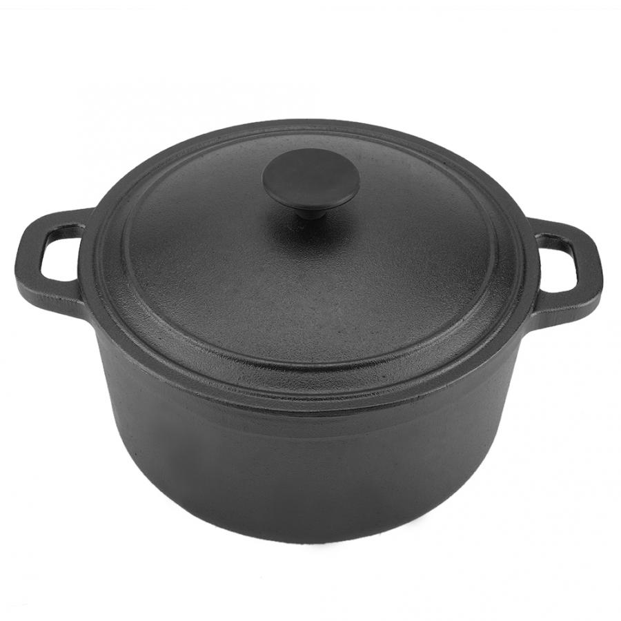 Portable Non-Stick Cast Iron Pot