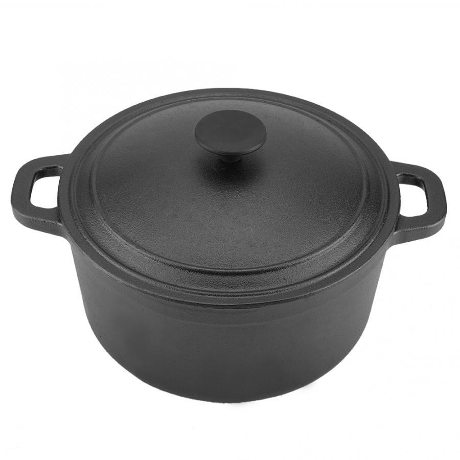 Portable Non-Stick Cast Iron Pot