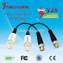 Light protection single channel passive video balun transceiver BNC balun