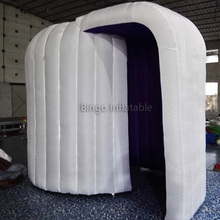 lighting decoration popular dome tent inflatable photo booth props toy tent
