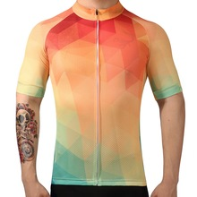 2017 LKPRBD Bicycle mtb speckle cycling jersey only short sleeve clothing ropa ciclismo invierno bike Blend color