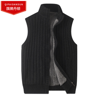 Brand Plus Size 6XL Mens Cardigan Sweater Famous Brand Clothing Zipper Male Sweaters Top Quality Cardigan For Men Sleeveless