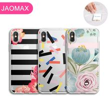 Get more info on the Jaomax Soft Silicone Cute Confetti Flower Floral Phone Case For iPhone 7 8 Plus Xs Max 6 6s Plus 5 5S SE X Xr Lovely Capa Fundas