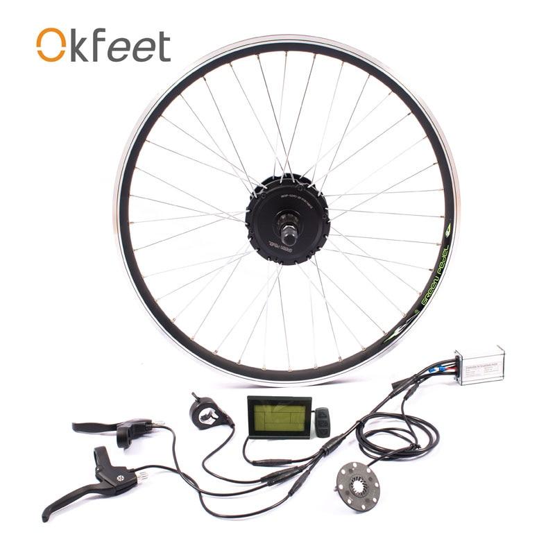 36 v 350 w ebike kit de conversion vélo Électrique kit moteur MXUS marque sans batterie LED LCD en option 16 /20/24/26/28 g350f