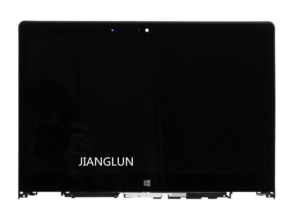 JIANGLUN Per Lenovo Yoga 700-14ISK 80QD LED Schermo LCD Digitizer Assembly Lunetta 14