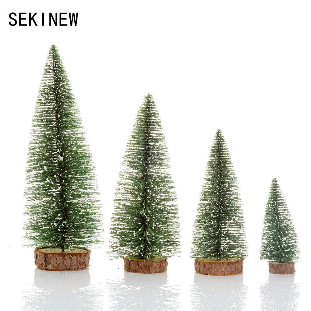 SEKINEW 10 25cm Mini Christmas Tree Artificial Christmas Trees ...