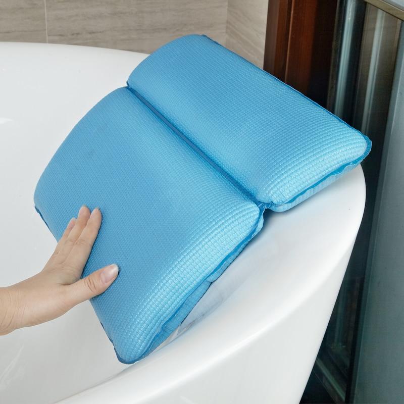 2016 High quality Bathroom bathtub Spa soft Pillows bathtub headrest ...