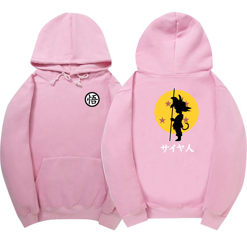 2017 New Dragon Ball Z Hoodies good quality cotton fashion Casual Hoodie Men women Wukong hoody