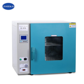 ZOIBKD DHG-9070A 2.5Cu Ft Factory Price Energy Saved Lab Used Hot Air Dry Drum Heating Ovens