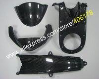 Лидер продаж, по настоящему углеродного волокна 4 части тела обтекатель для Ducati Monster 696 1100 796 1100 S 795 Aftermarket мотоцикл Запчасти