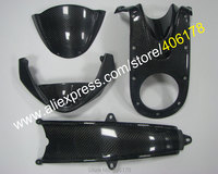 Hot Sales,Really Carbon Fiber 4 Pieces Body Fairing For Ducati Monster 696 1100 796 1100S 795 Aftermarket Motorcycle Parts