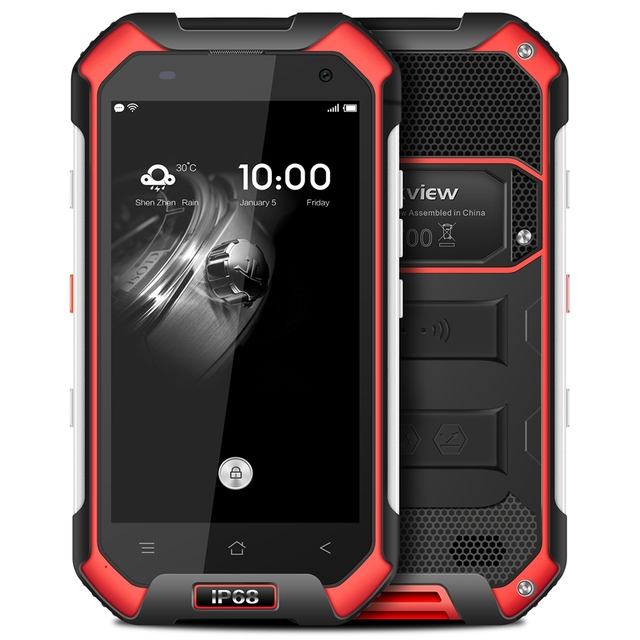 Blackview bv6000 4.7 дюймов 4 г Водонепроницаемый IP68 мобильного телефона Android 7.0 mtk6755 Octa Core 2.0 ГГц 3 ГБ + 32 ГБ 5mp + 13MP мобильных телефонов