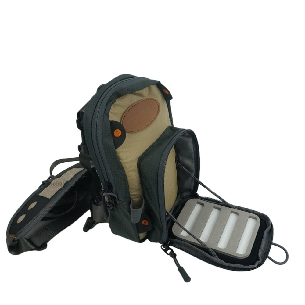 Free Shipping New Sage Technical Fly Fishing Chest Pack Cobalt Waterproof Bag