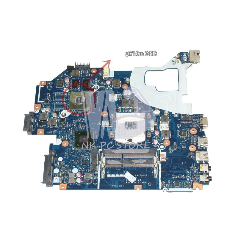 NOKOTION NBM6B11001 NB.M6B11.001 Main Board For Acer aspire V3-571G E1-571G Laptop Motherboard DDR3 LA-7912P GT710M Video Card nokotion va70hw main bd gddr5 motherboard for acer aspire v3 772g laptop main board ddr3 geforce gtx760m
