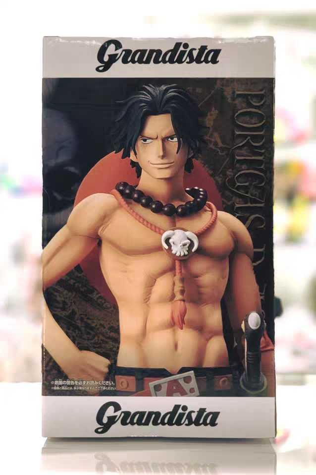 WSTXBD BANPRESTO One Piece OP Grandista THE GRANDLINE MEN ACE Luffy Figure Toys Figurals Model Dolls Brinquedos