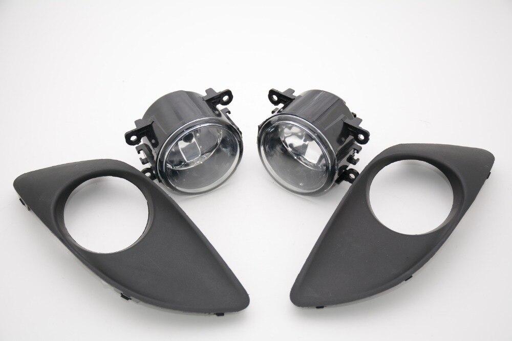 1 комплект передних вождения противотуманные фары с противотуманные фары чехлы комплекты обрамление для Сузуки Алто 2009