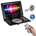 GKNUO GKN-900 9Inch DVD Player Digital Multimedia Player Support U Drive Play & Card Reader FM/TV/Game Function Black EU/US Plug