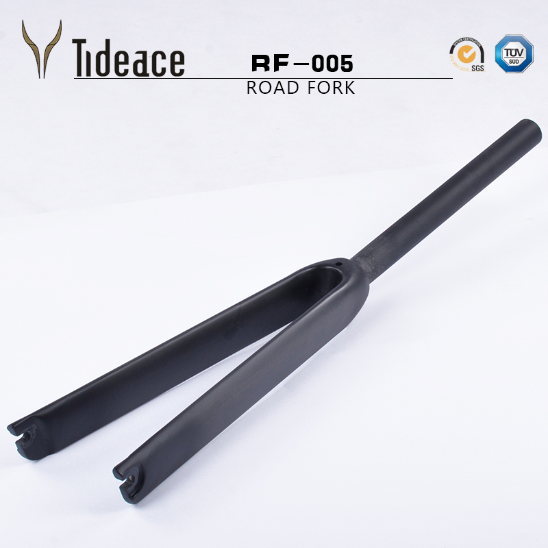 Cheap t800 full carbon fiber forks road bike carbon fork 700c bike fork road bike carbon fork bike parts carbon fibre road fork 700c alloy crown ud black bicycle forks fixed gear track forks bike parts 1 1 8 28 6mm tube